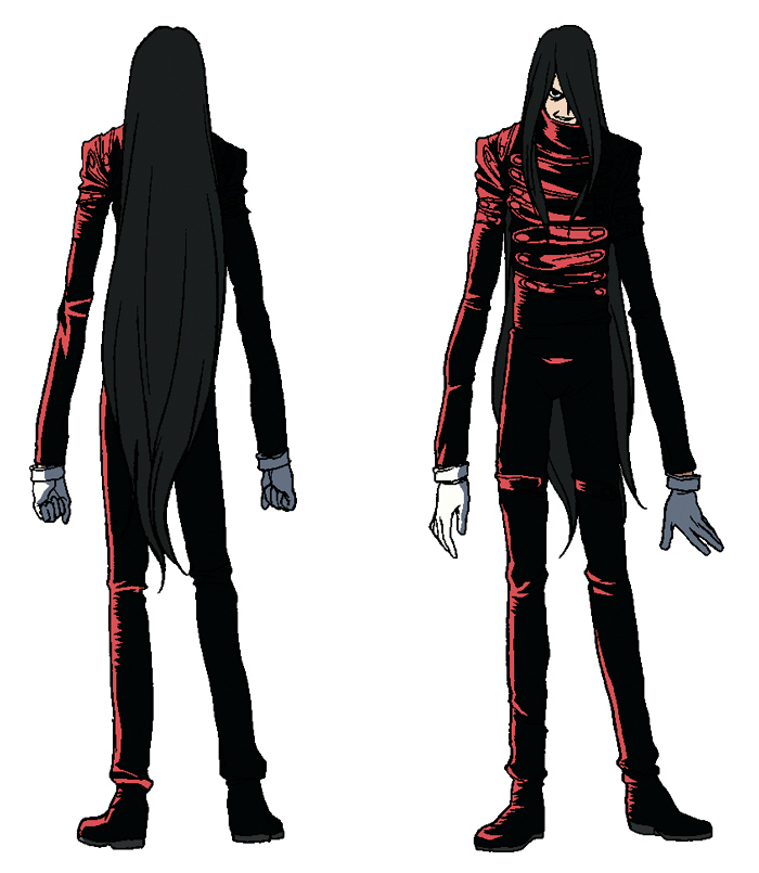 Hellsing Pictures Character Designs